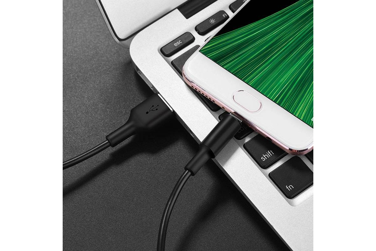 Кабель USB micro USB HOCO X25 Soarer charging data cable for Micro 1 метр черный