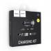 Автомобильное зарядное устройство USB 2000mAh HOCO Z1 + кабель iPhone 5/6/7