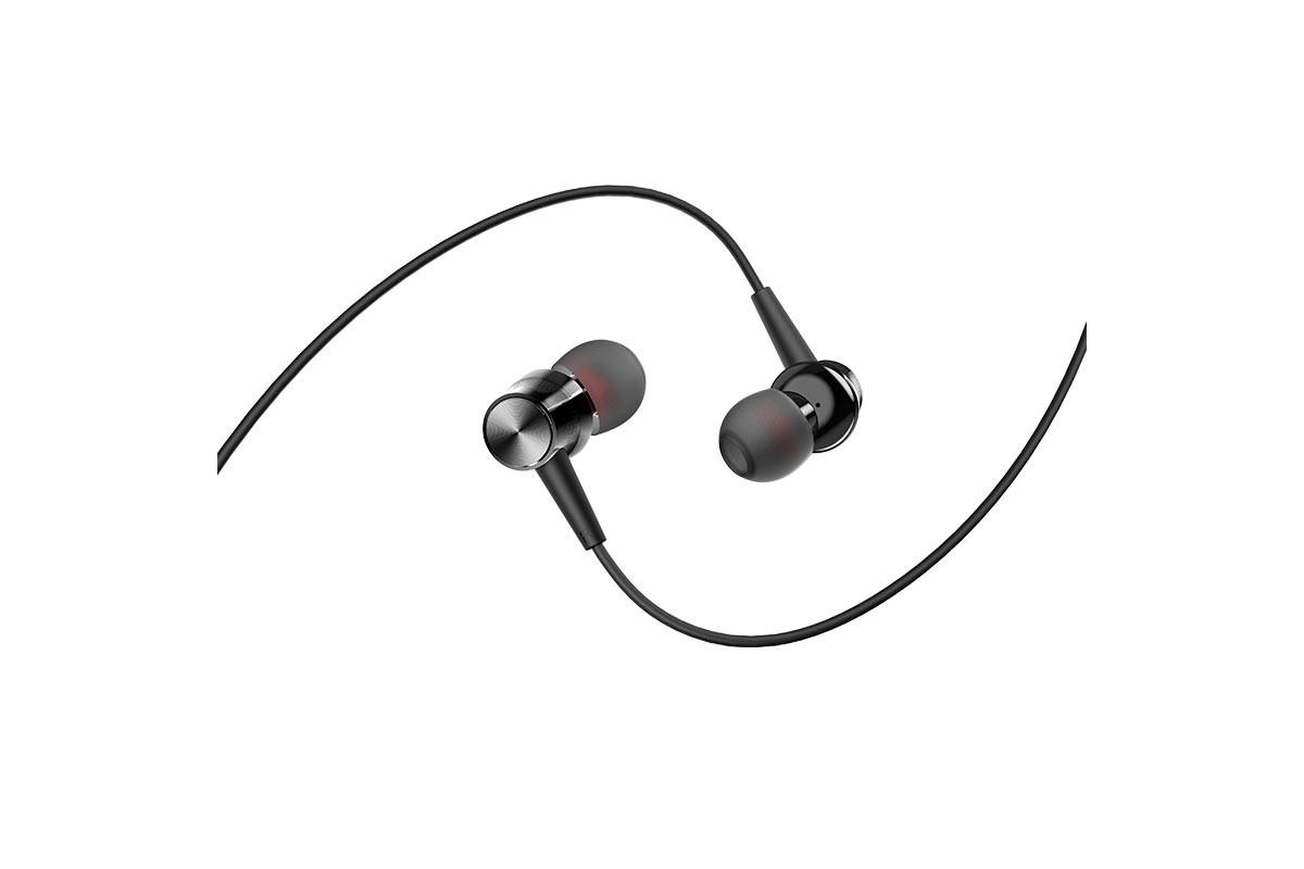 Гарнитура BOROFONE BM52 Revering universal earphones 3.5мм цвет черная