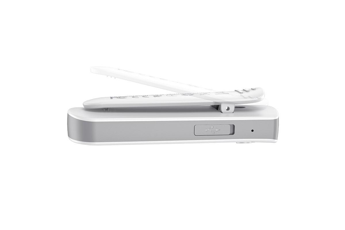 Bluetooth-гарнитура E52 Euphony wireless audio receiver earphone HOCO белая