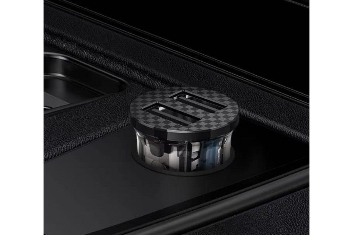 Автомобильное зарядное устройство 2USB HOCO DZ3 series 2400mAh прозрачная