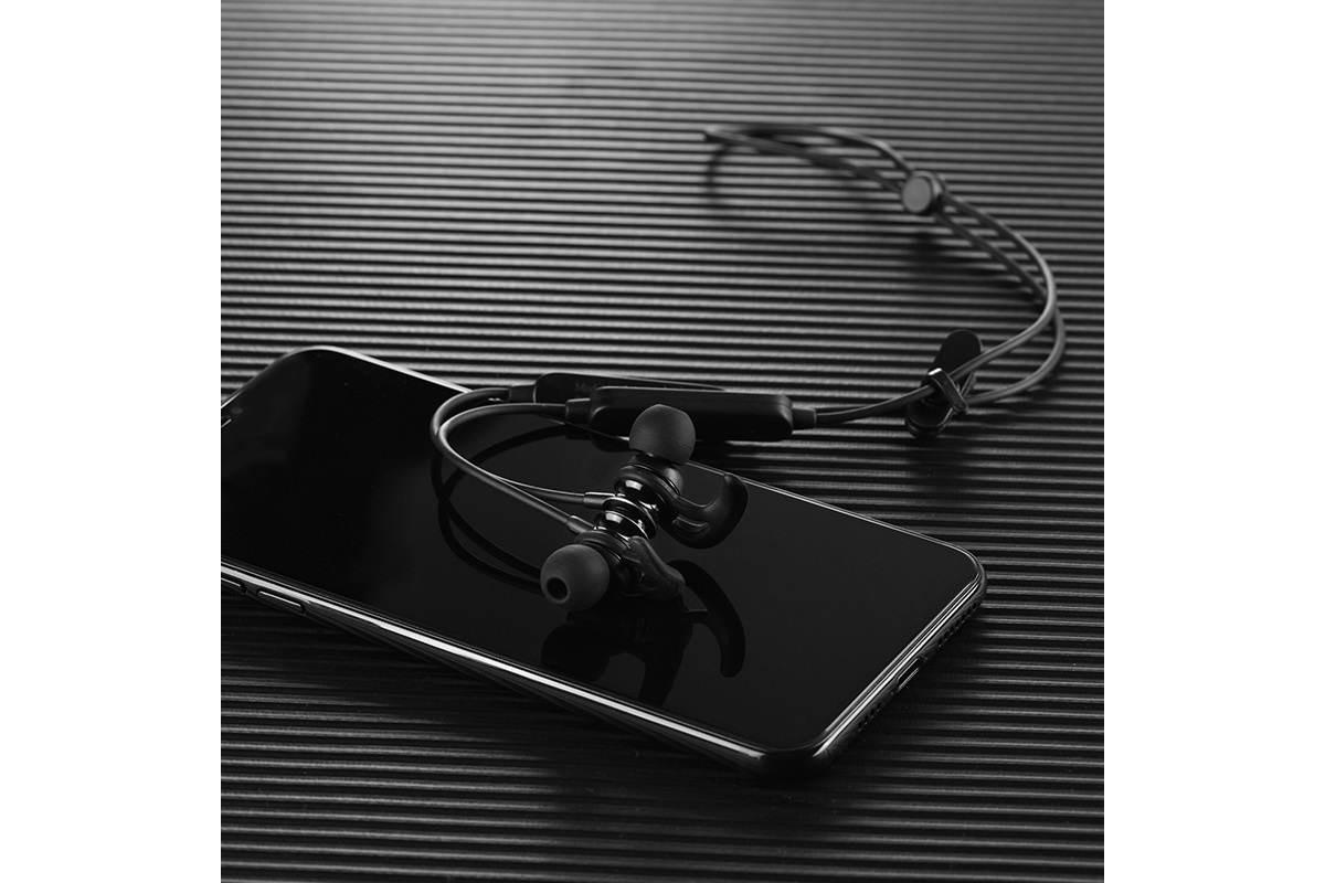 Bluetooth-гарнитура ES22 Flaunt sportive wireless headset HOCO черная