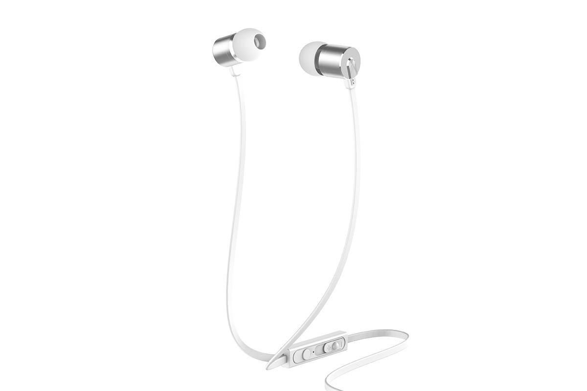 Гарнитура HOCO M63 Ancient sound earphones with mic серебристая
