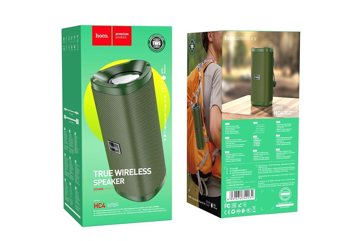 Портативная беспроводная акустика HOCO HC4 Bella sports BT цвет камуфляж