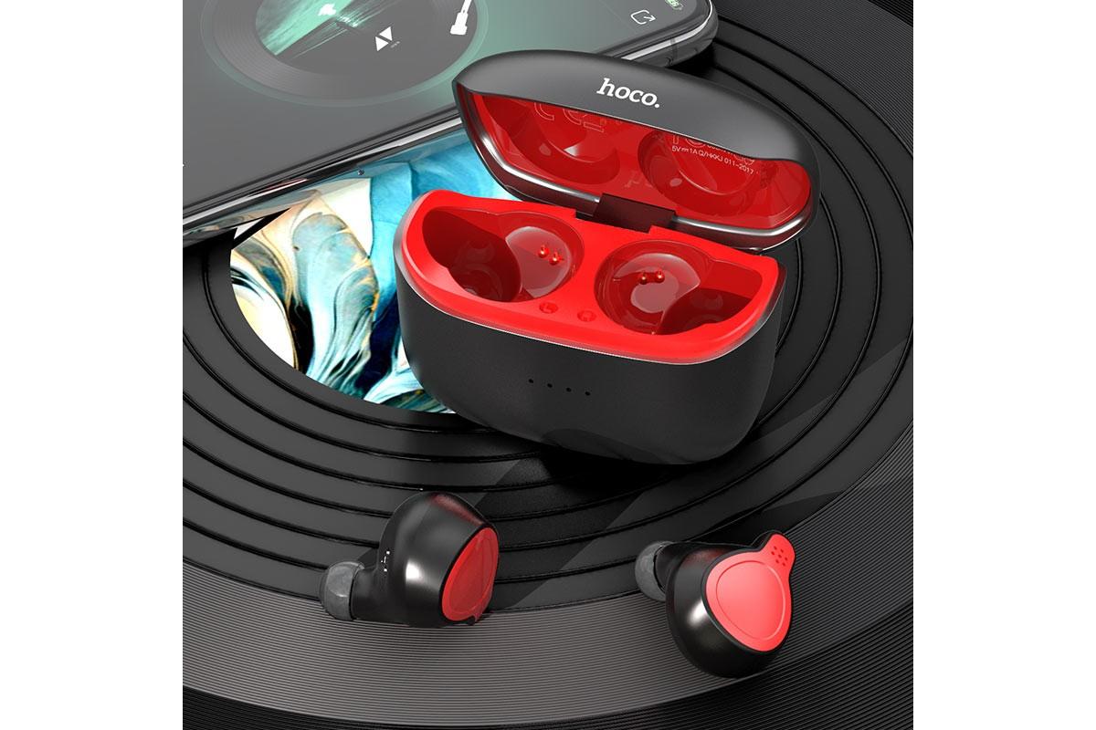 Беспроводные наушники ES47 Shelly sound TWS wiereless headset HOCO черная