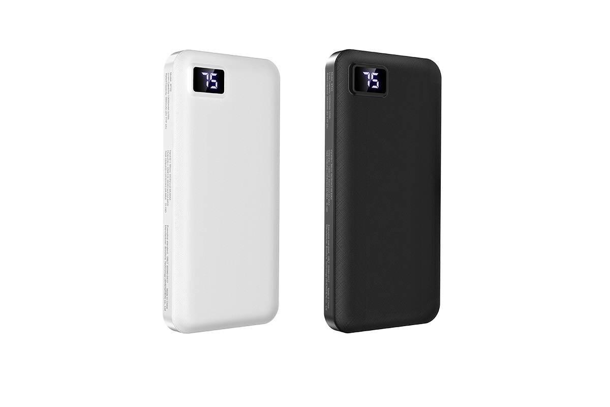 Универсальный дополнительный аккумулятор BOROFONE BT22 Intelligent mobil  Power Bank 10000 mAh белый