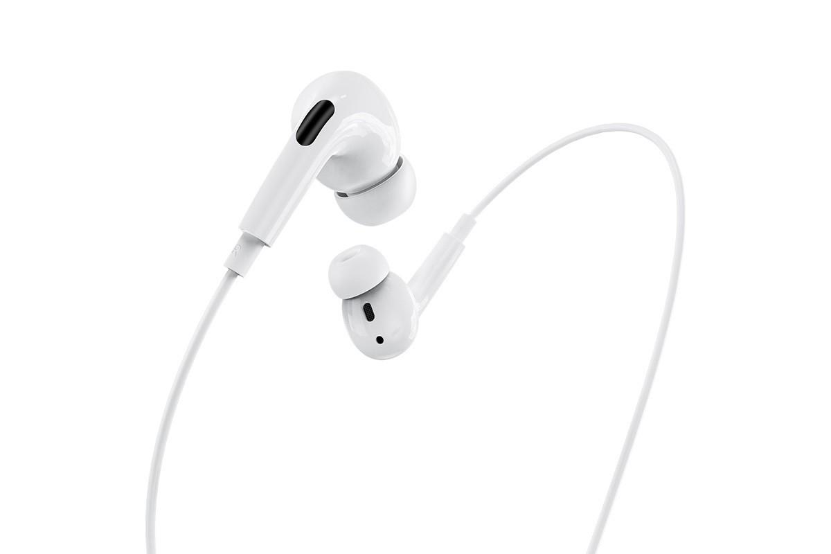 Гарнитура HOCO M1Pro iPhone Lighting mm цвет белый (под оригинал)