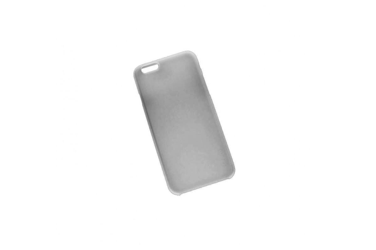 Пластиковая накладка iPhone 6/6S HOCO Thin Series Frosted Case серая (в фирменной упаковке)