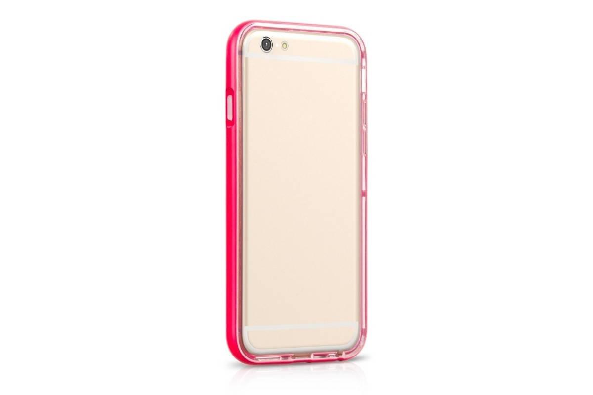 Пластиковая накладка iPhone 6/6S HOCO Steel Series Flash Case красная (в фирменной упаковке)