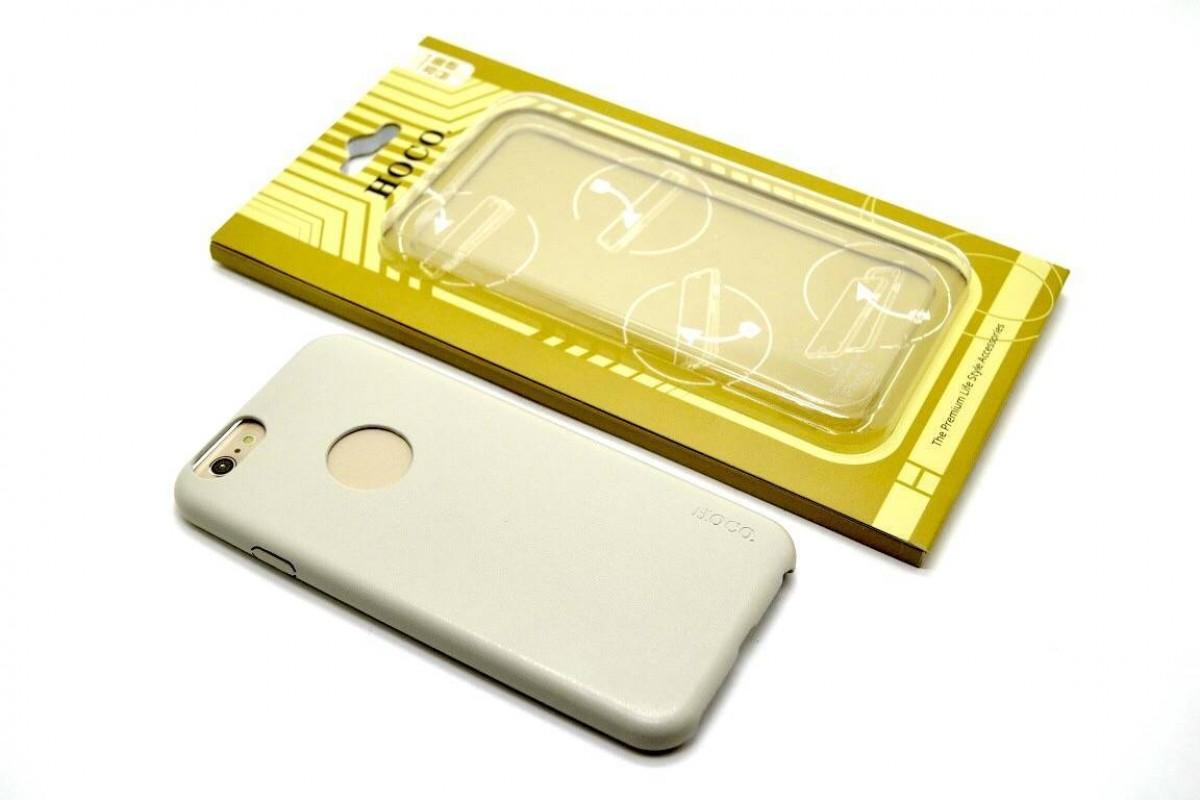 Чехол HOCO для iPhone 6 (4.7) -  Slimfit Series back cover case белый