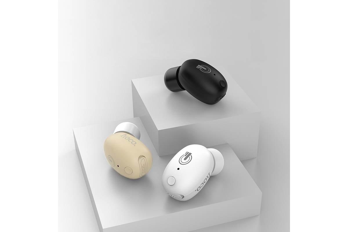 Bluetooth-гарнитура HOCO E24 Ingenious sound sensory mini, черная
