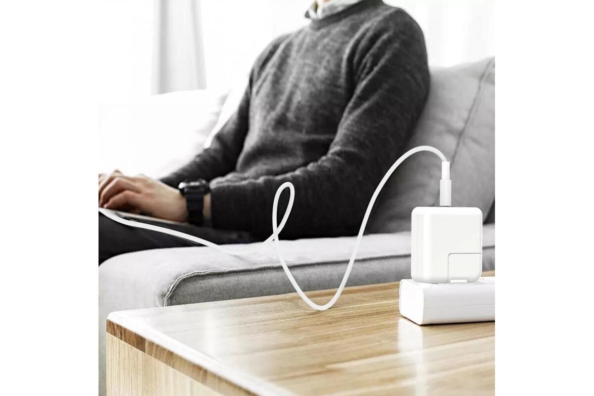Кабель USB BOROFONE BX44  Type-C to Type-C higt energy 100w (белый) 2 метра