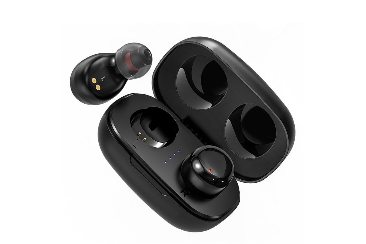 Беспроводные наушники BOROFONE BE35 Agreeable voice TWS wireless headset цвет черная