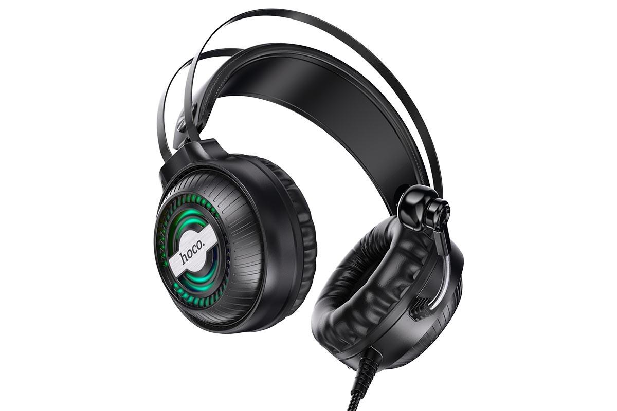 Внешние наушники/наушники  HOCO W101 Streamer  gaming headphones черный