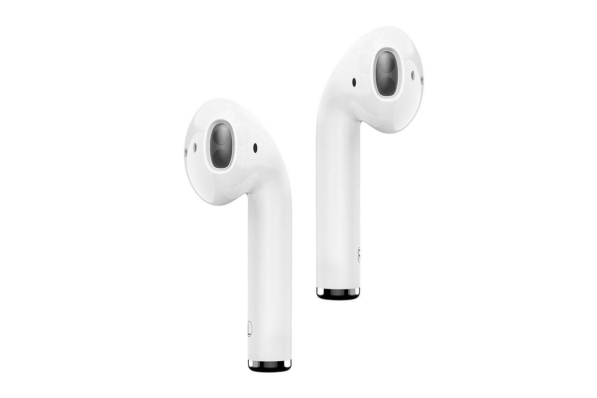 Bluetooth-гарнитура BE28 FreeRun Sports Wireless Earphone  BOROFONE белая