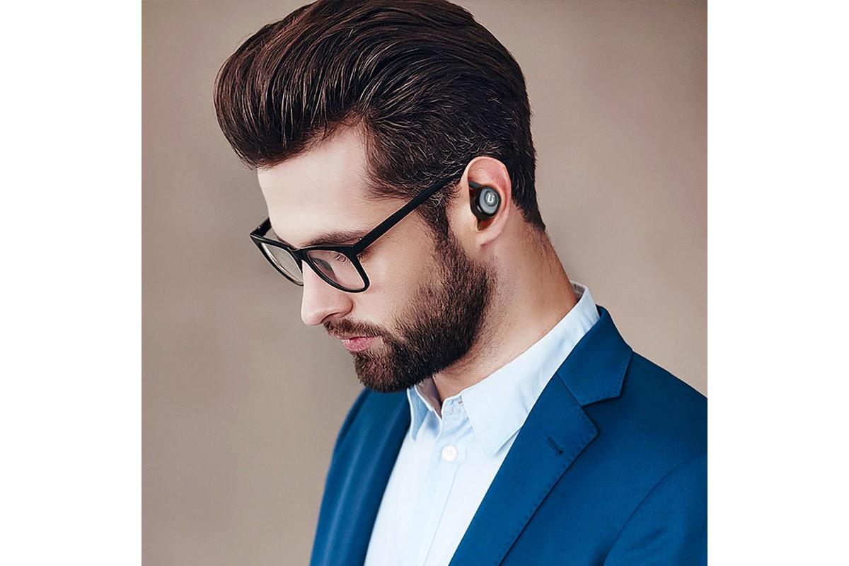 Bluetooth-гарнитура BE8 BOROFONE Airgo TWS (True Wireless)  черная