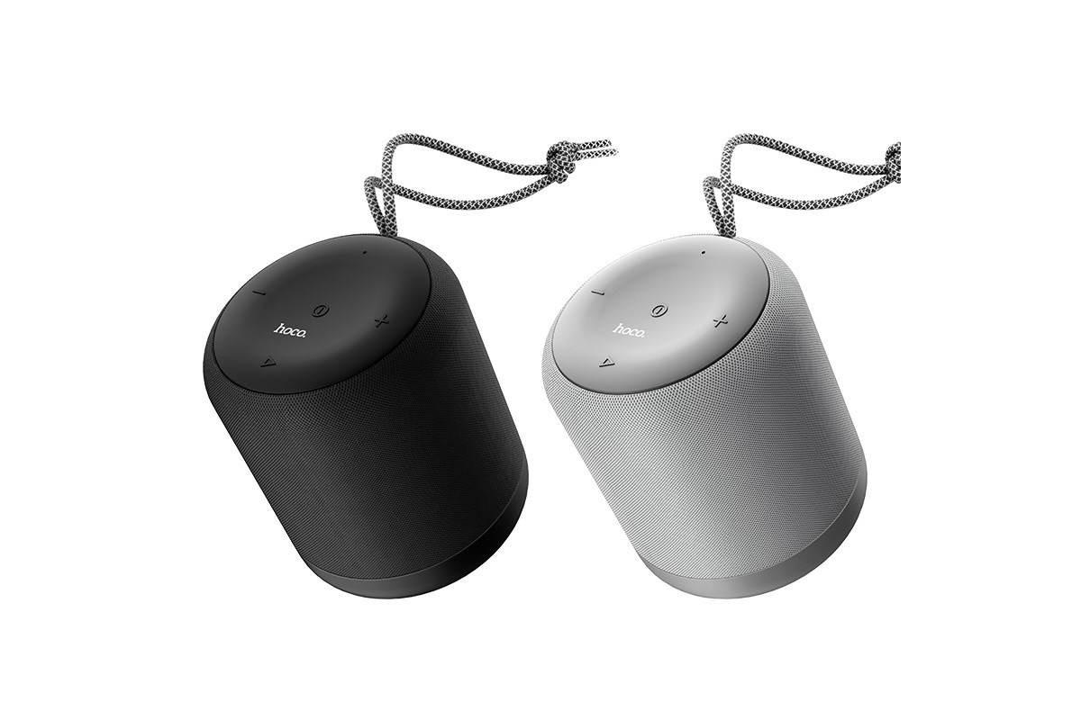 Портативная беспроводная акустика HOCO BS30 New moon цвет серый