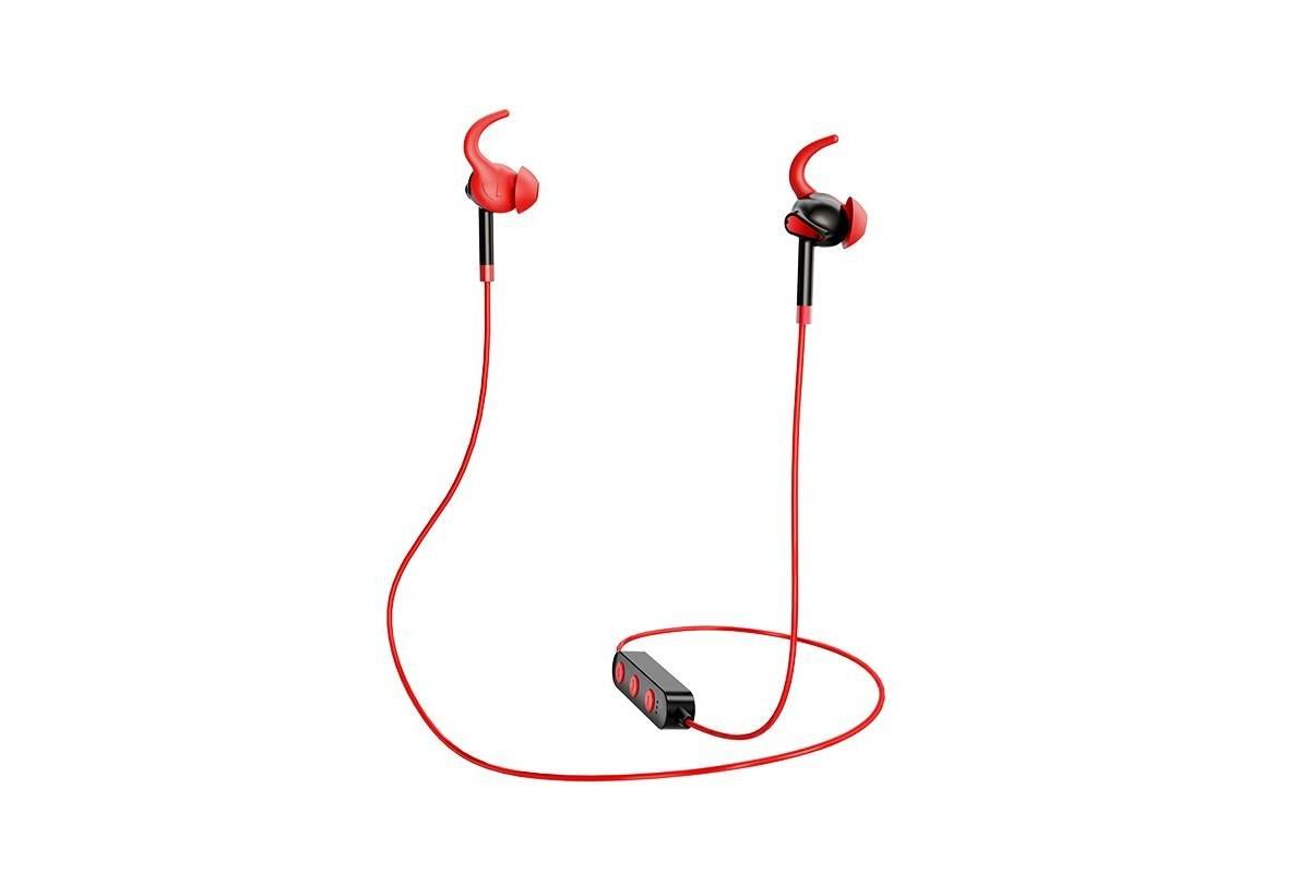 Bluetooth-гарнитура ES30 Axestone sports wireless earphones HOCO красная