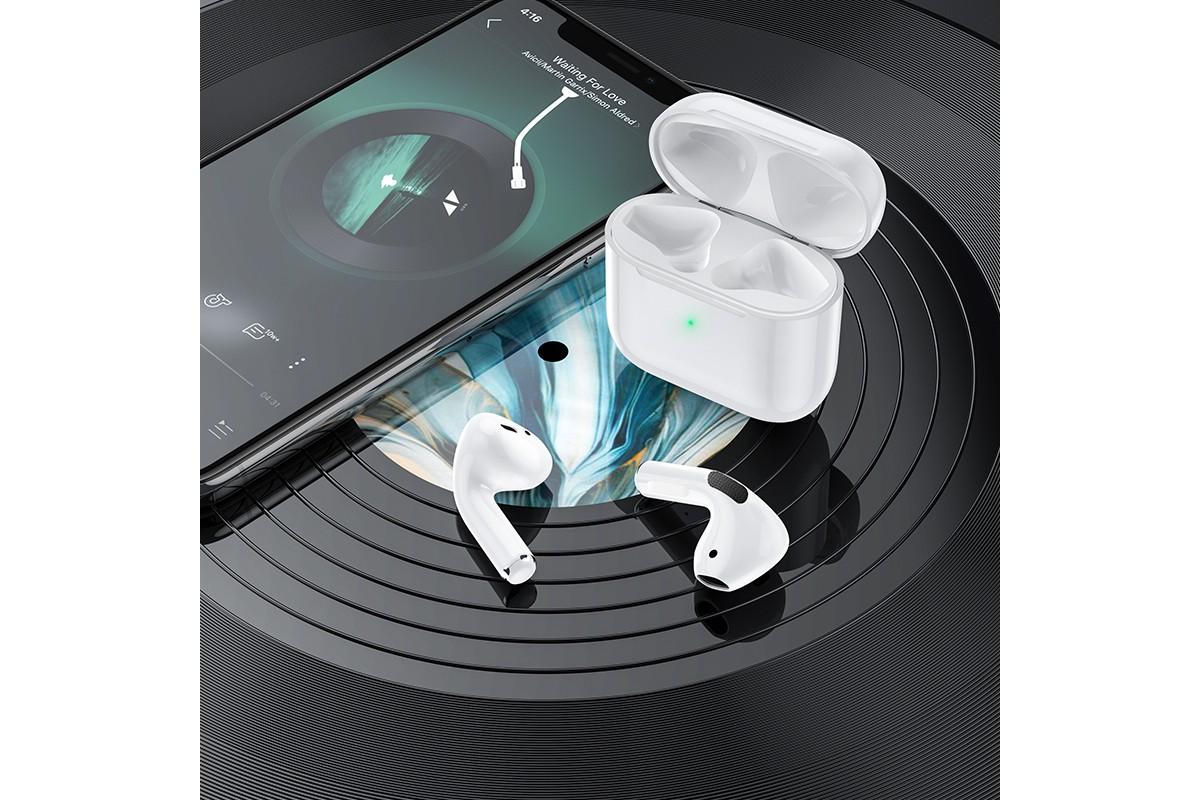 Беспроводные наушники BOROFONE BW02 Original Series true Wireless Earphone белые