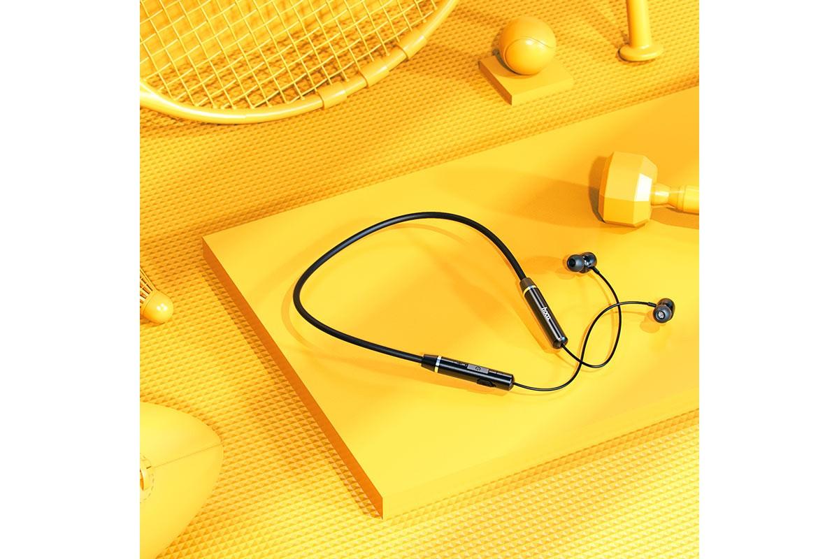 Беспроводные наушники ES53 Coolway sports BT earphones HOCO черная