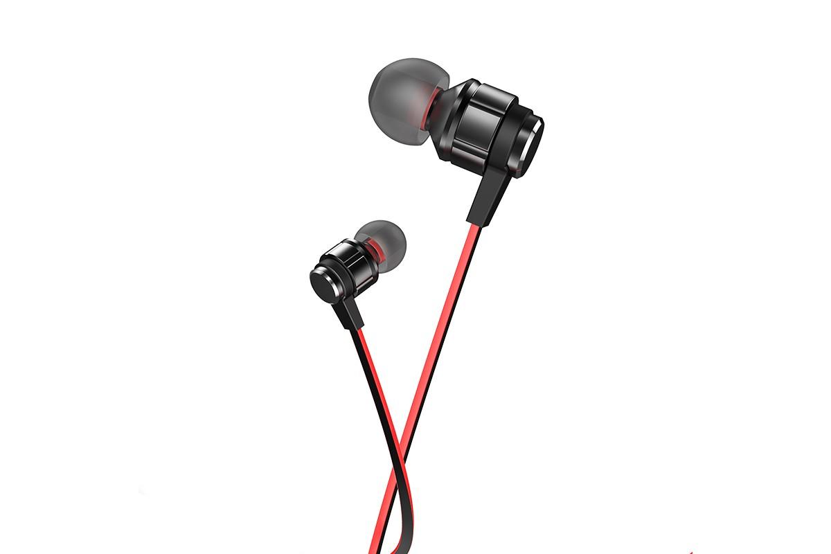 Наушники HOCO M85 Platinum sound universal earphones черная