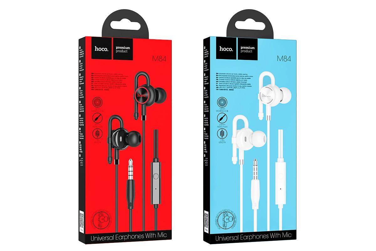 Наушники HOCO M84 Perfection universal earphones черная