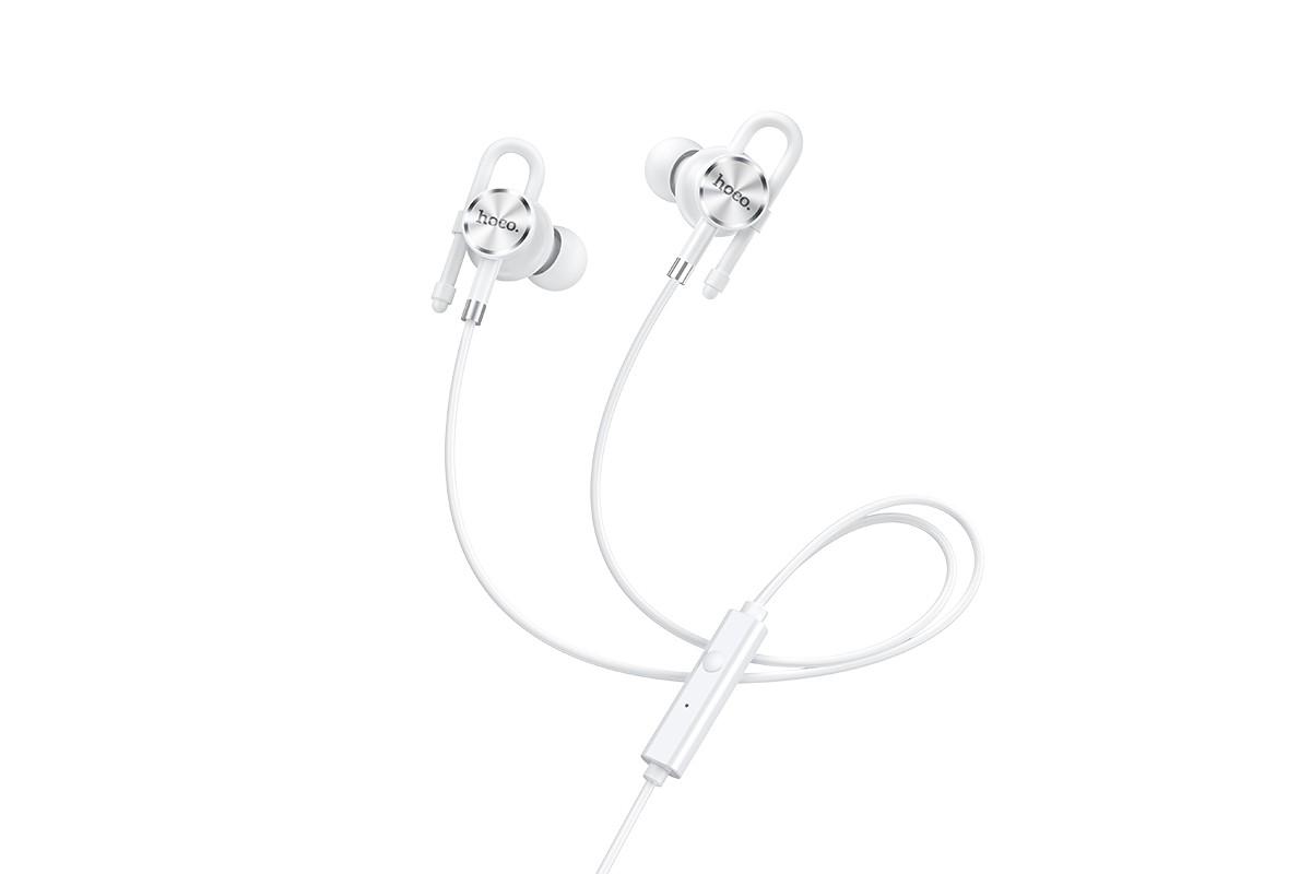 Наушники HOCO M84 Perfection universal earphones белая