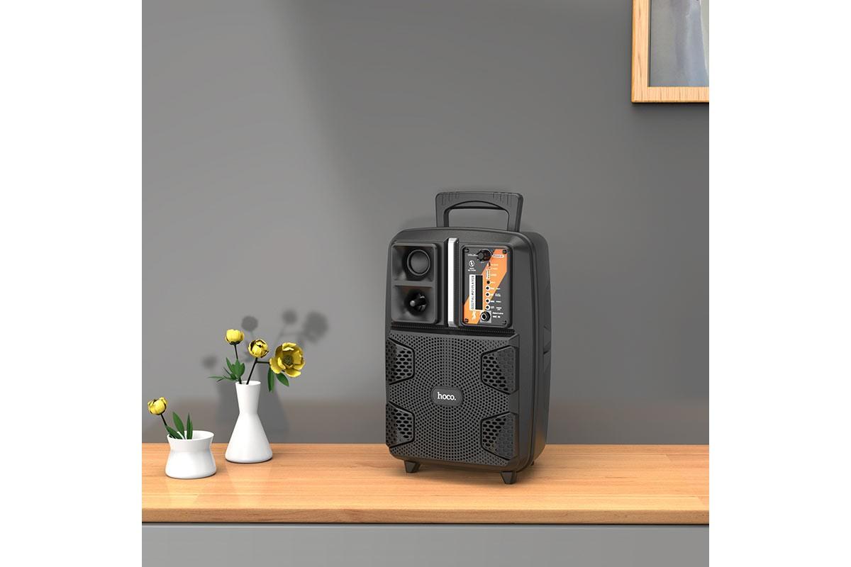 Портативная беспроводная акустика HOCO BS37 Dancer outdoor wireless speaker цвет черный