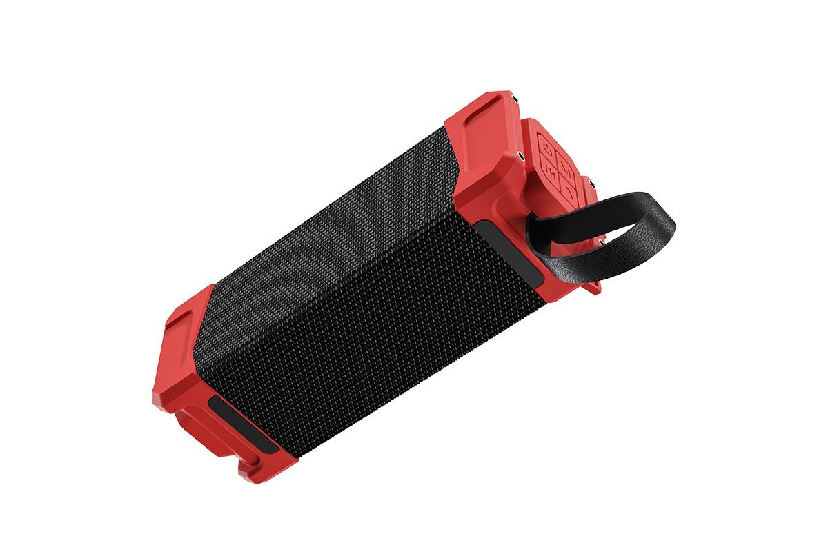 Портативная беспроводная акустика HOCO HC6 Magic sports BT speaker цвет красный