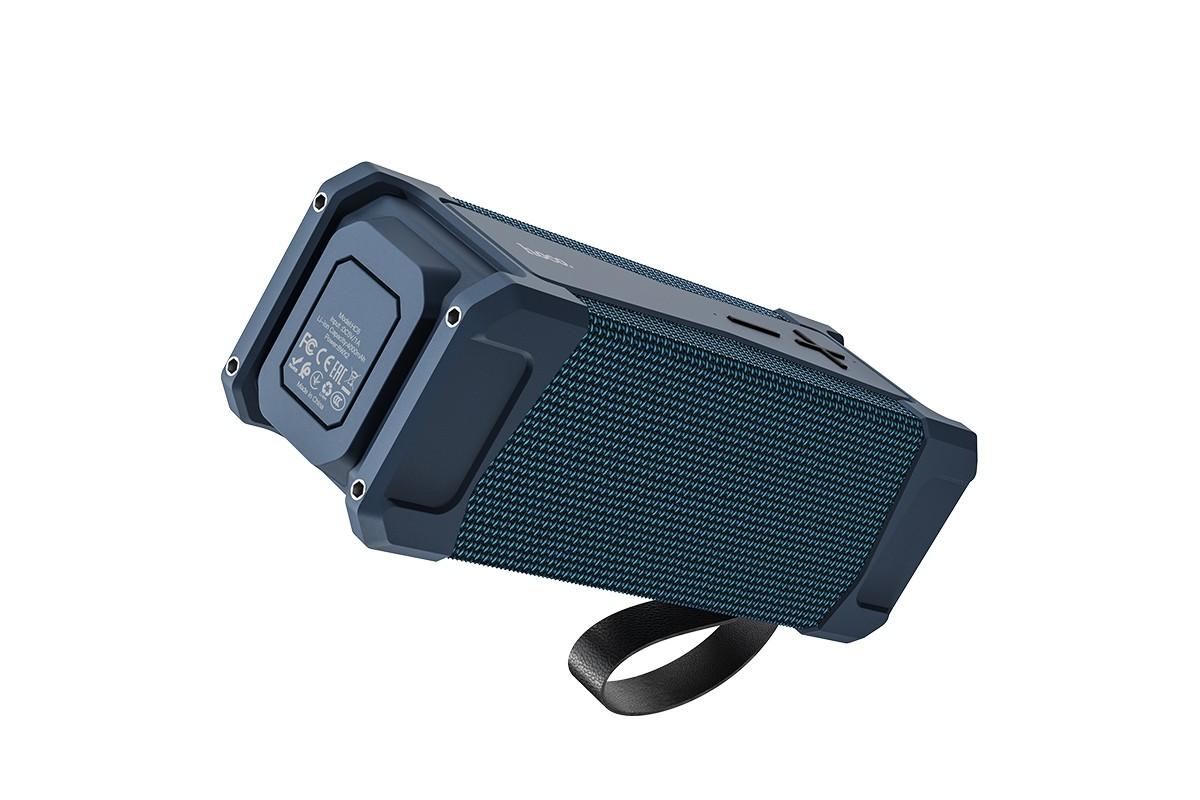 Портативная беспроводная акустика HOCO HC6 Magic sports BT speaker цвет синий