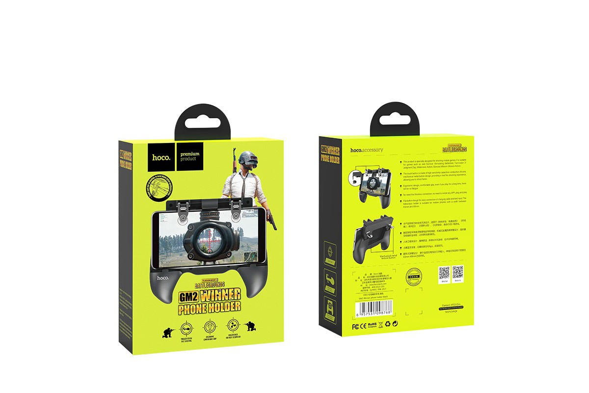 Геймпад триггер для телефона HOCO GM2 Winner phone holder