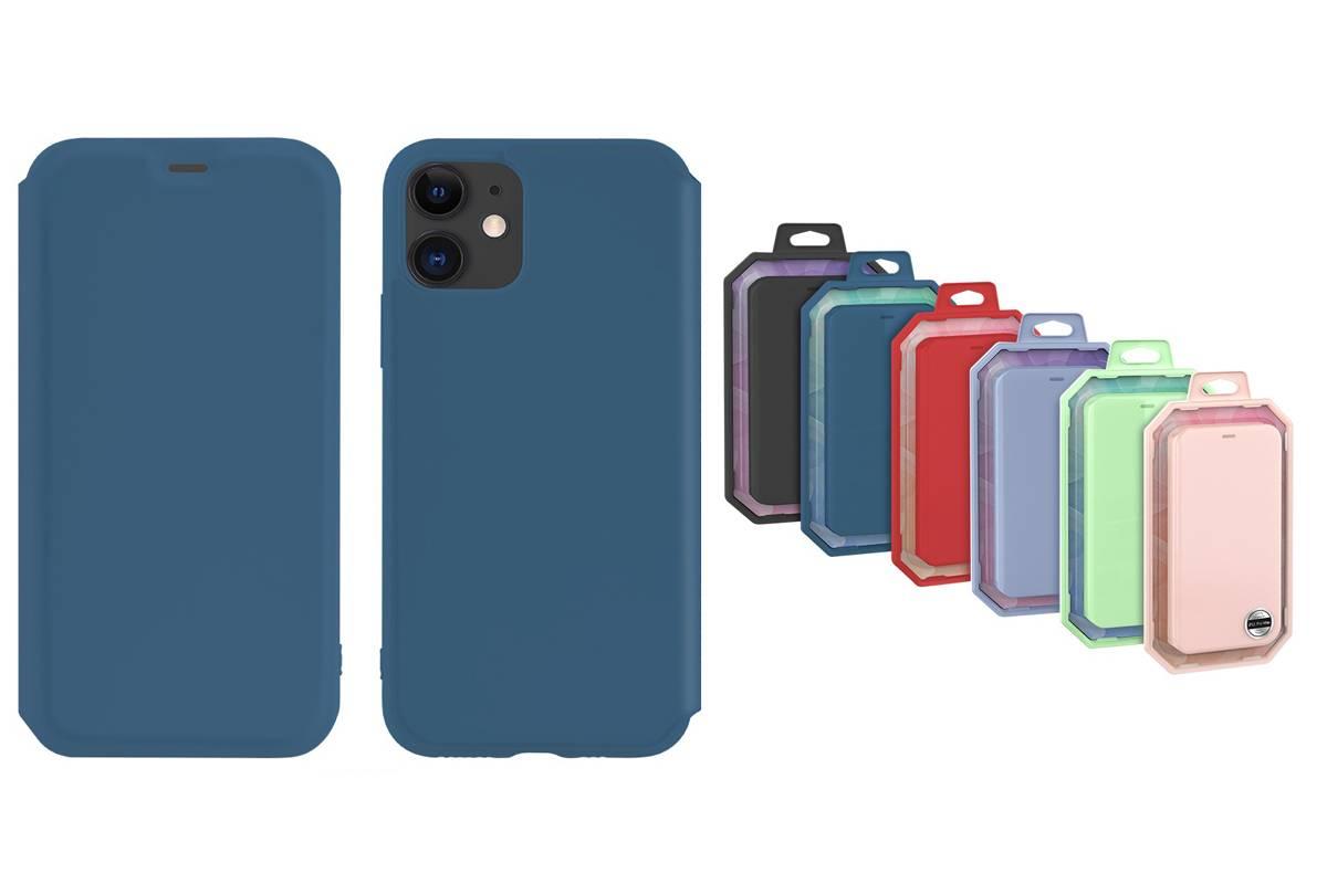 Чехол-книжка HOCO iPhone 11 (6.1) синяя