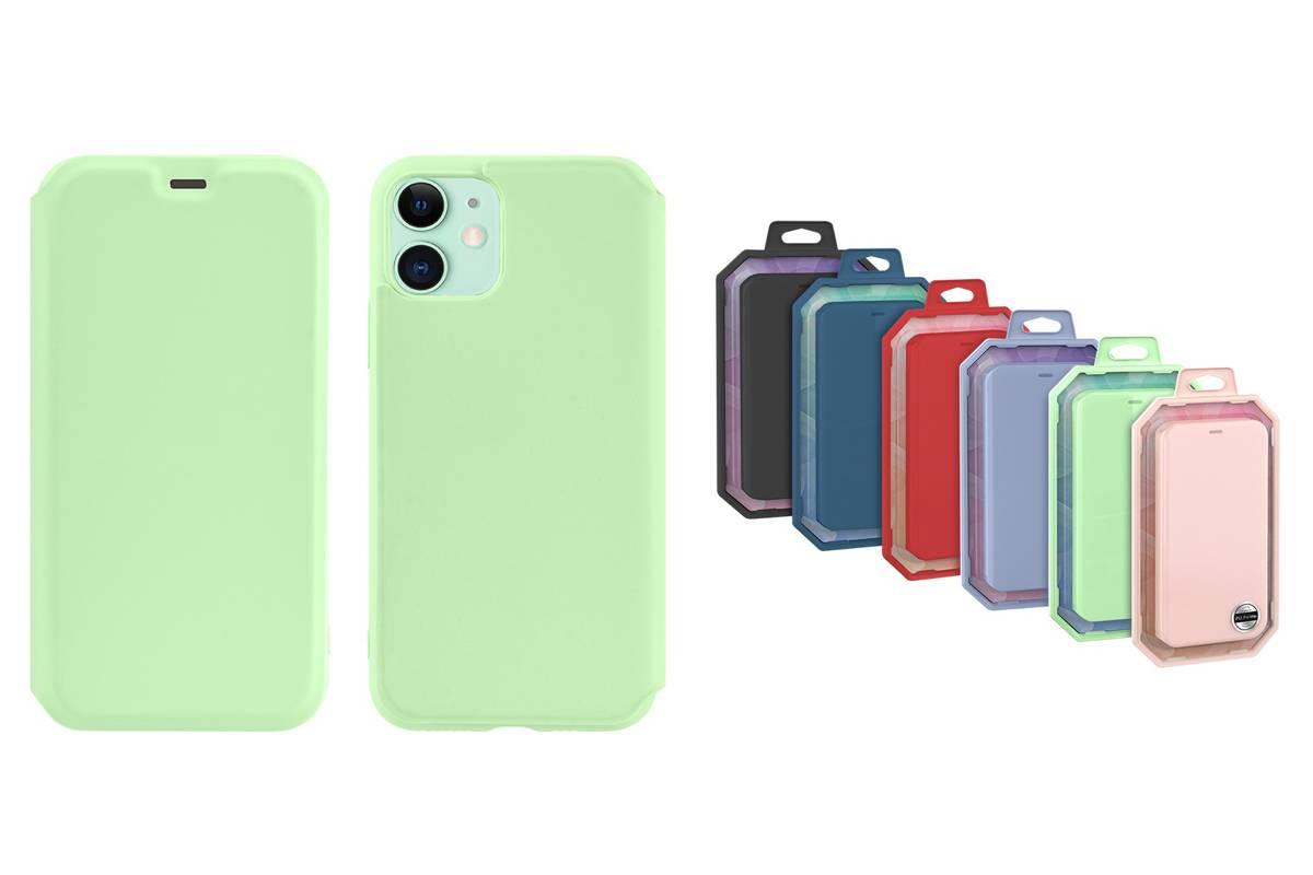 Чехол-книжка HOCO iPhone 11 (6.1) зеленая