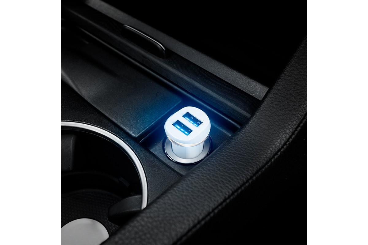 Автомобильное зарядное устройство 2USB HOCO Z1 two-port car charger 2400 mAh