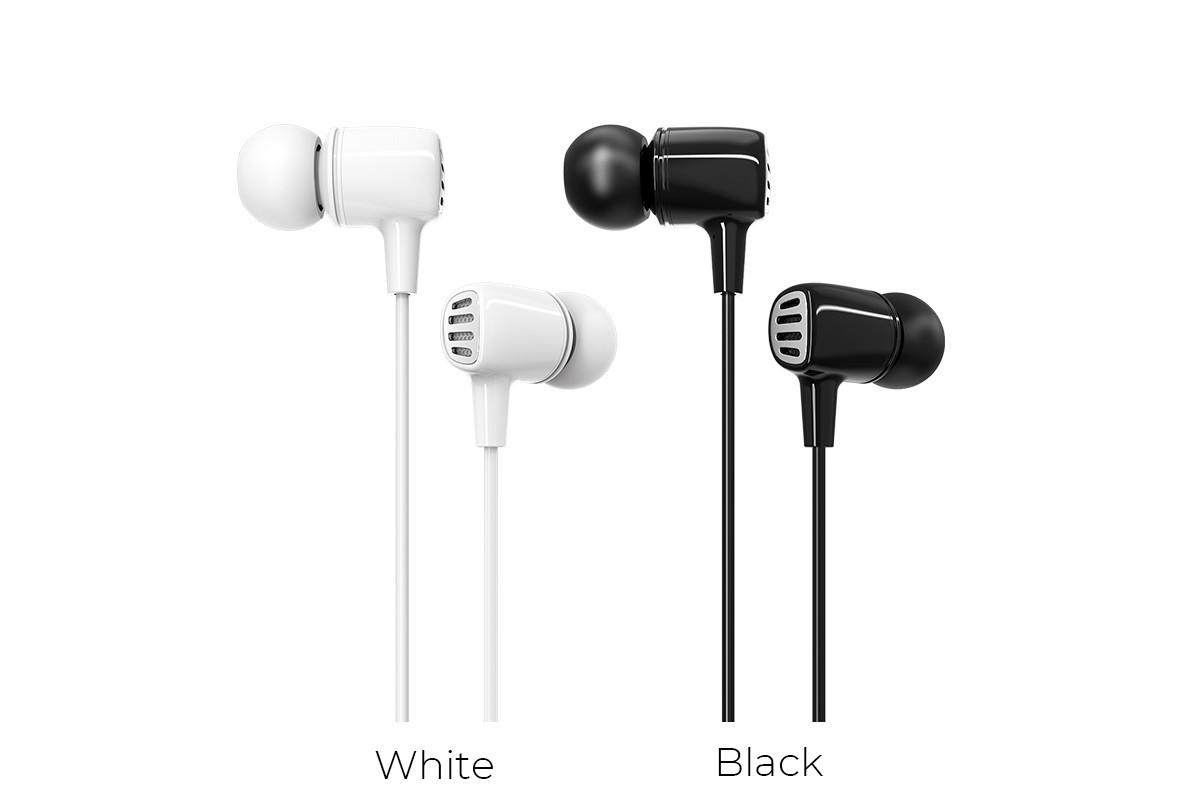 Гарнитура BOROFONE BM43 Remy universal earphones 3.5мм цвет черный