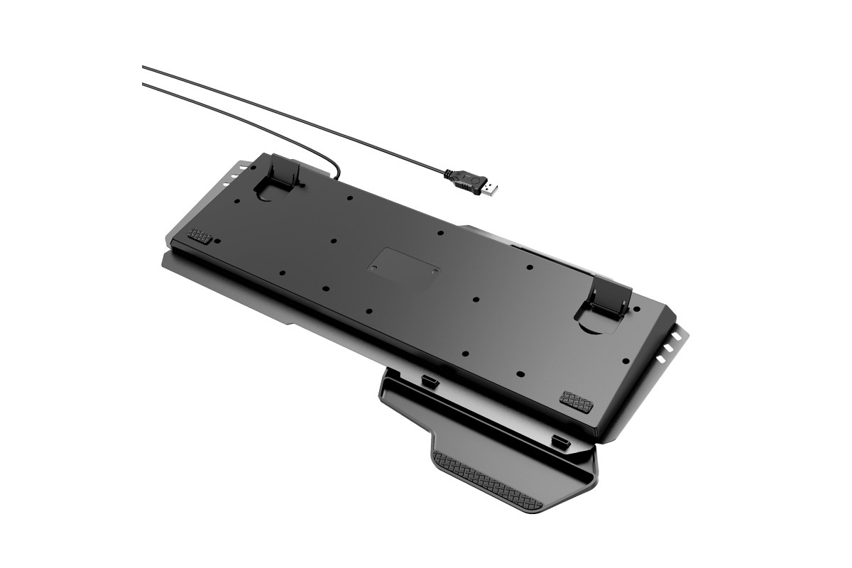 Клавиатура игровая HOCO GM12 Light and shadow RGB gaming keyboard and mouse set(rus) черная
