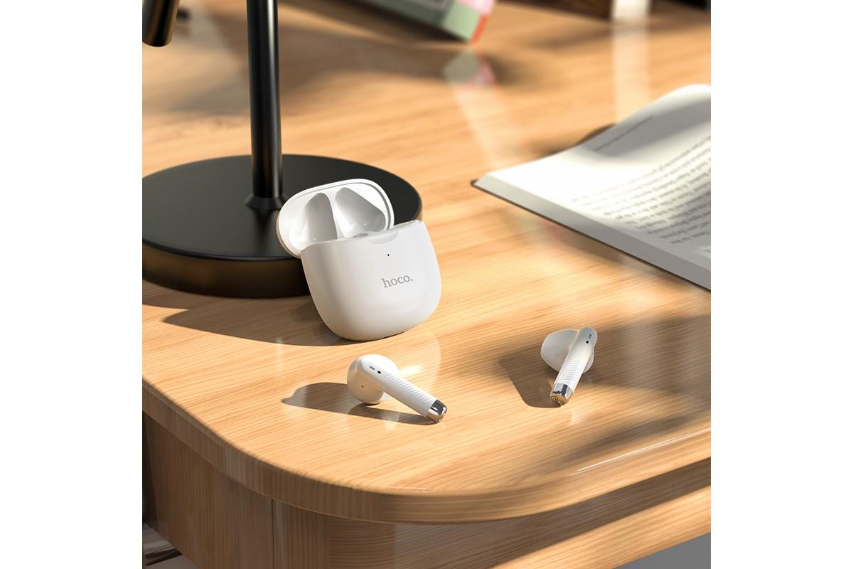 Беспроводные наушники ES56 Scout TWS wiereless headset HOCO белая