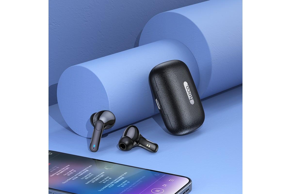 Беспроводные наушники ES59  Gratified wireless BT headset HOCO синий