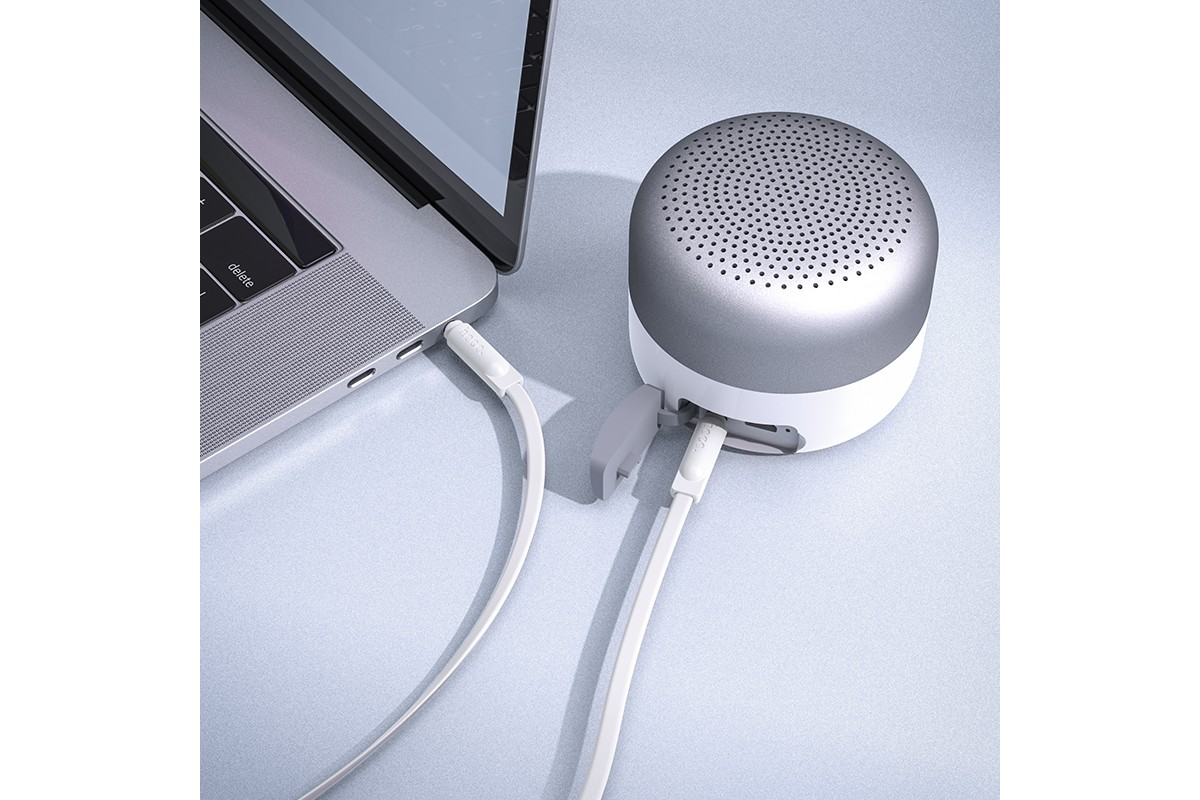 Кабель удлинитель HOCO UPA16 AUX audio cable 3.5 1 метр белый