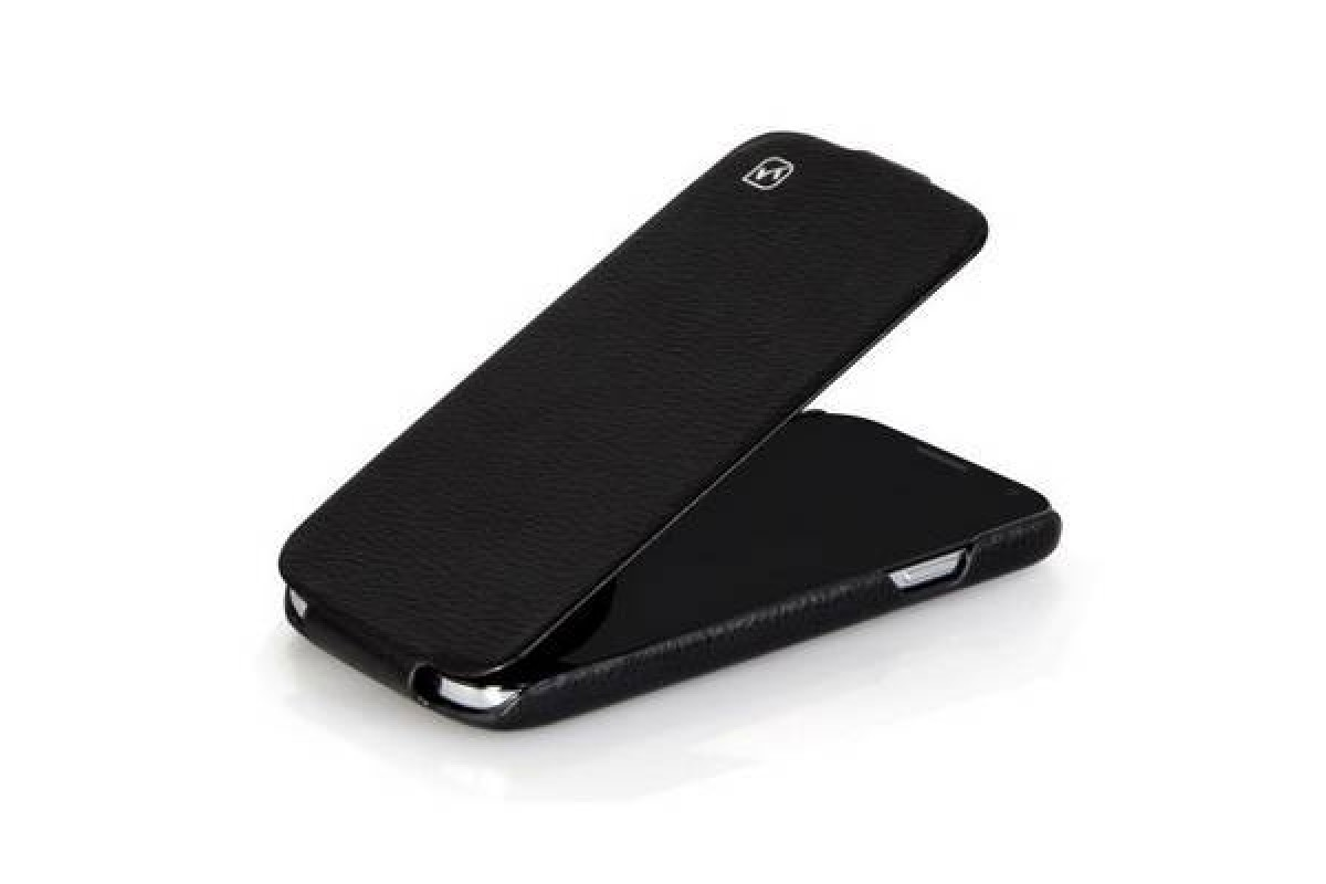 Чехол-книжка Samsung i9500 Galaxy S4 HOCO Duke Leather Case (черный)
