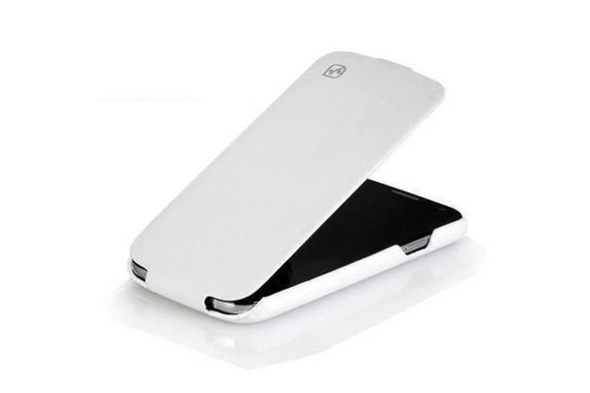 Чехол-книжка Samsung i9500 Galaxy S4 HOCO Duke Leather Case (белый)