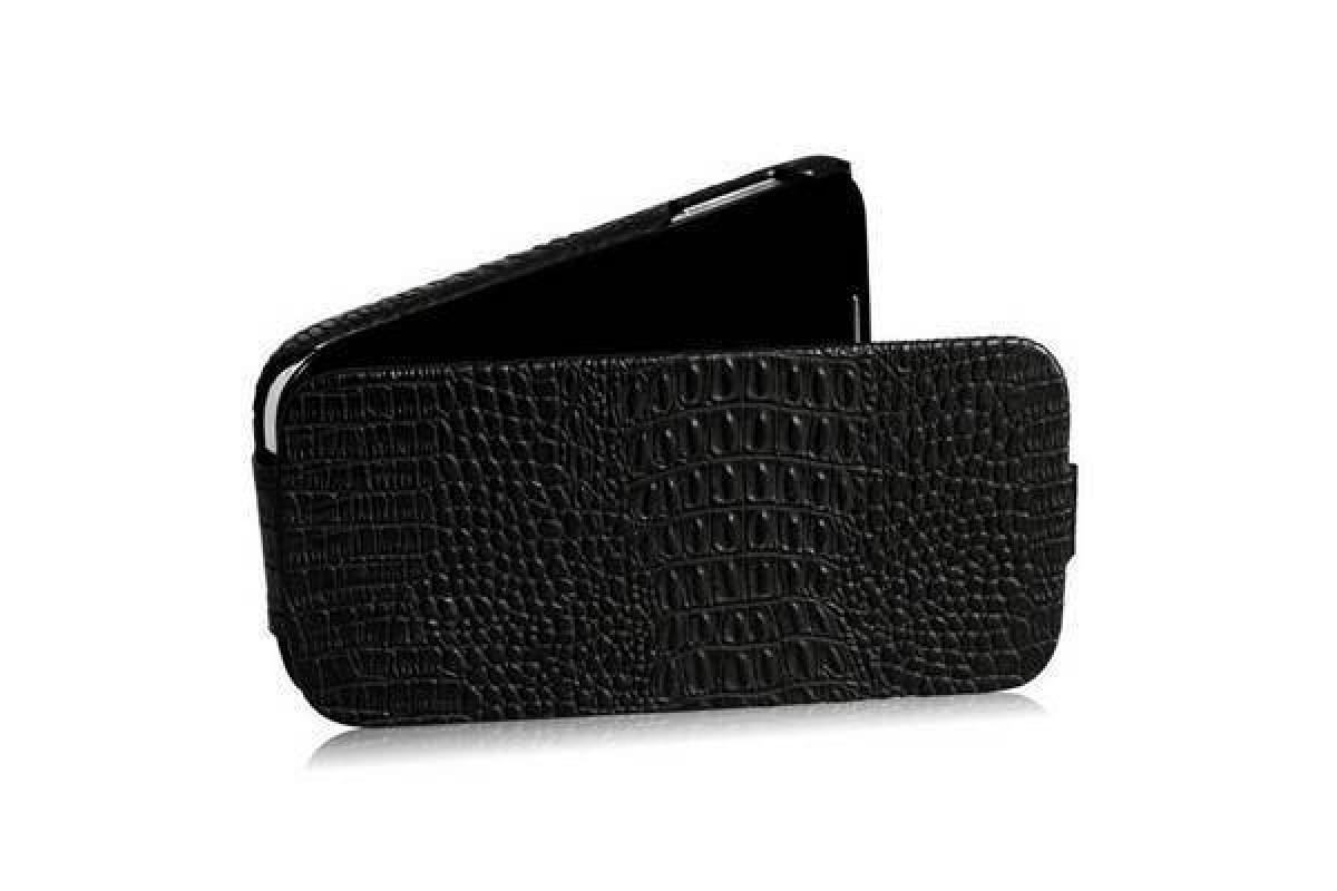 Чехол-книжка  Samsung i9500 Galaxy S4 Borofone Matt Crocodile Leather черн
