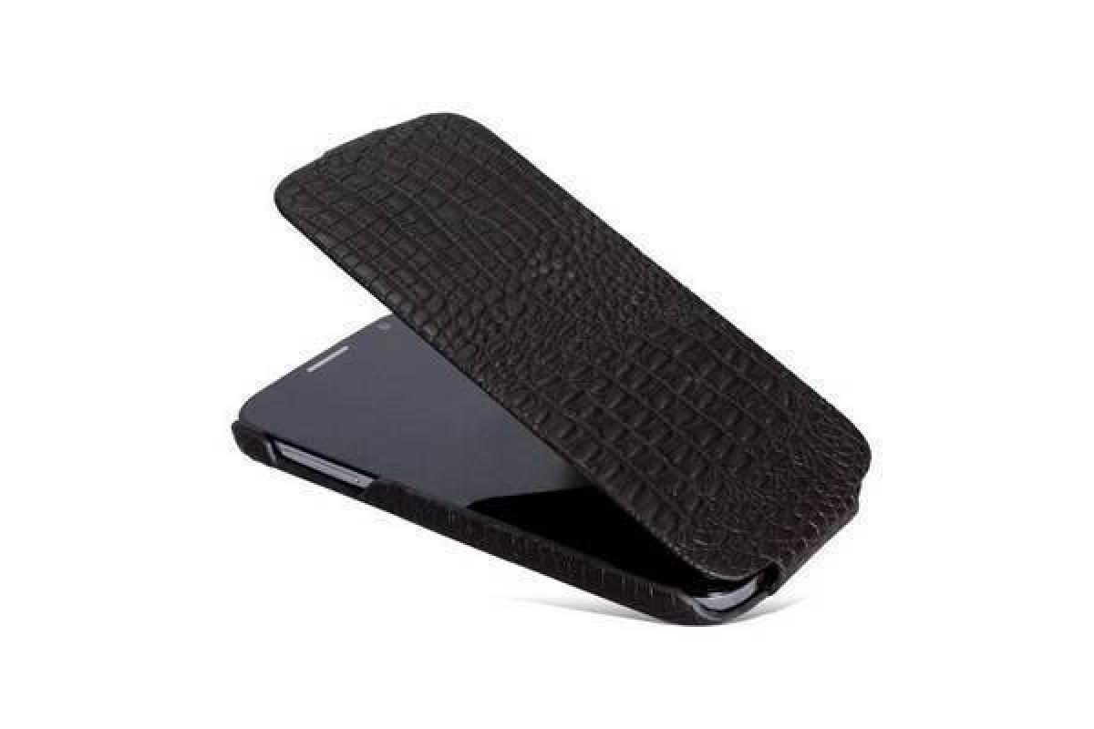Чехол-книжка Samsung i9500 Galaxy S4 Borofone Matt Crocodile Leather корич