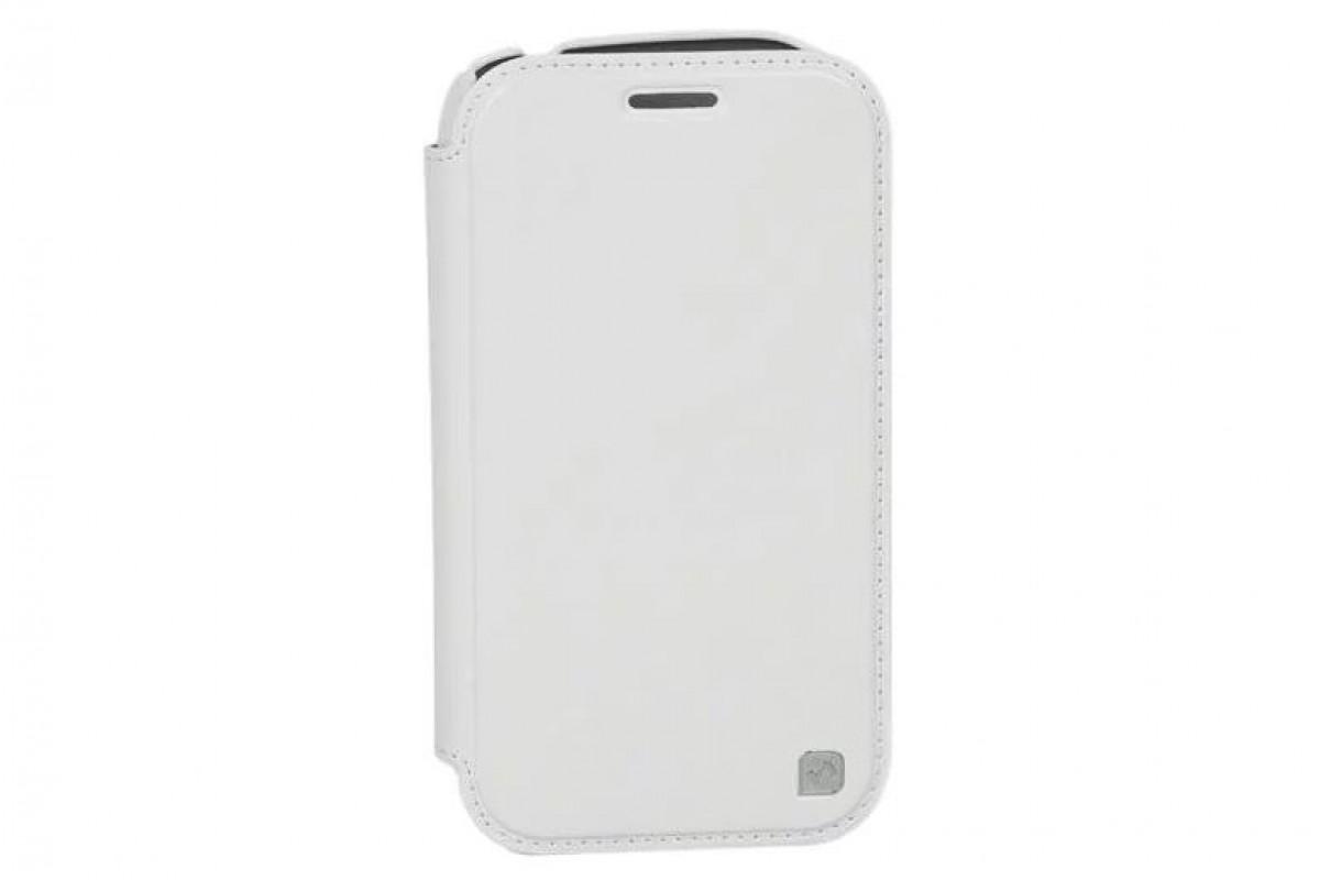 Чехол-книжка Samsung Galaxy Note 2 N7100 Crystal Leather Case (белый) HOCO