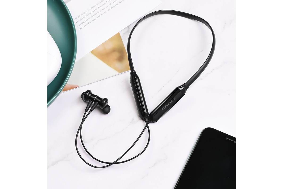 Bluetooth-гарнитура BE29 BOROFONE Joyoys sports черная