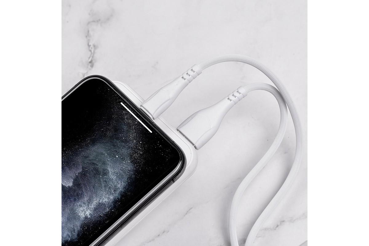 Кабель для iPhone BOROFONE BX37 Wieldy charging data cable for Lightning 1м белый