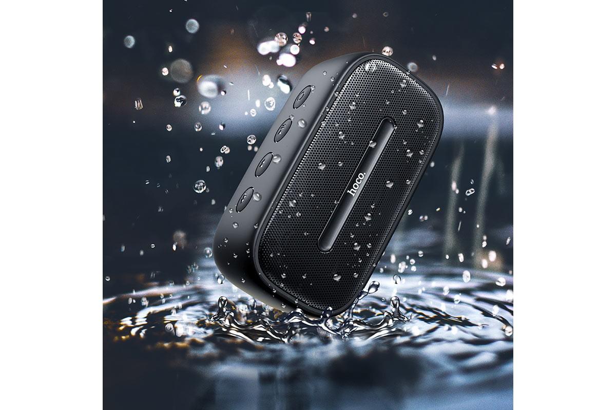 Портативная беспроводная акустика HOCO BS43 Cool sound sports wireless speaker цвет черный