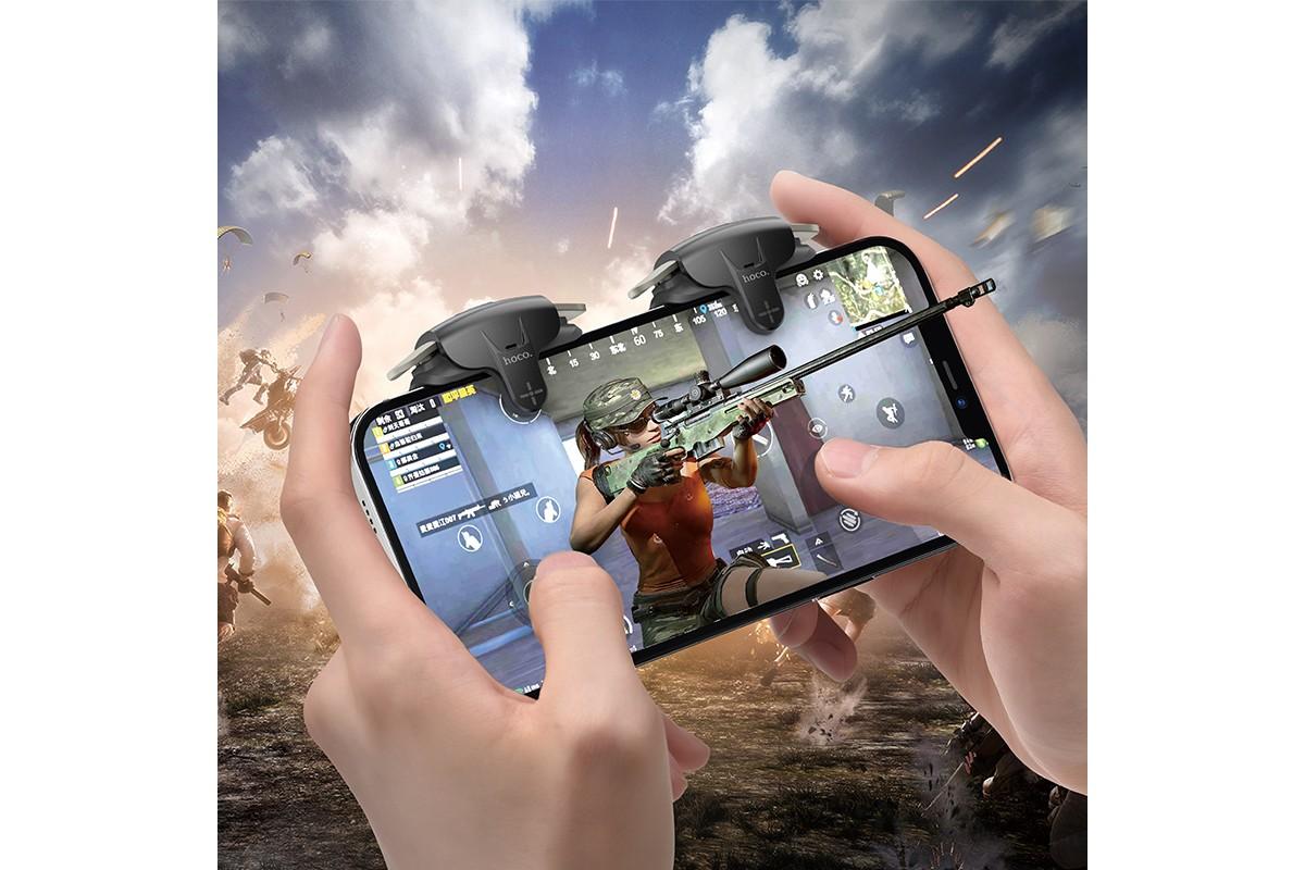 Геймпад триггер для телефона HOCO GM6 Wild wolf pulse mobile game button
