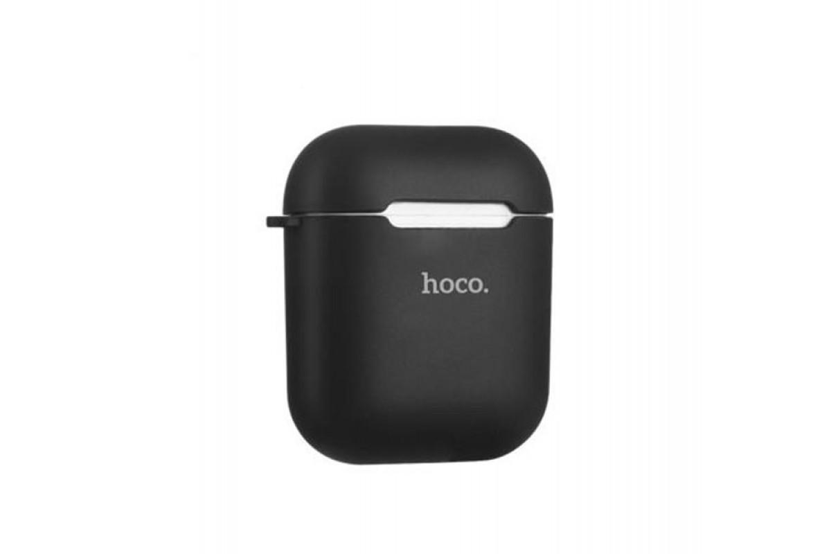 Чехол HOCO Soft-Touch для гарнитуры вакуумной беспроводной AirPods черный