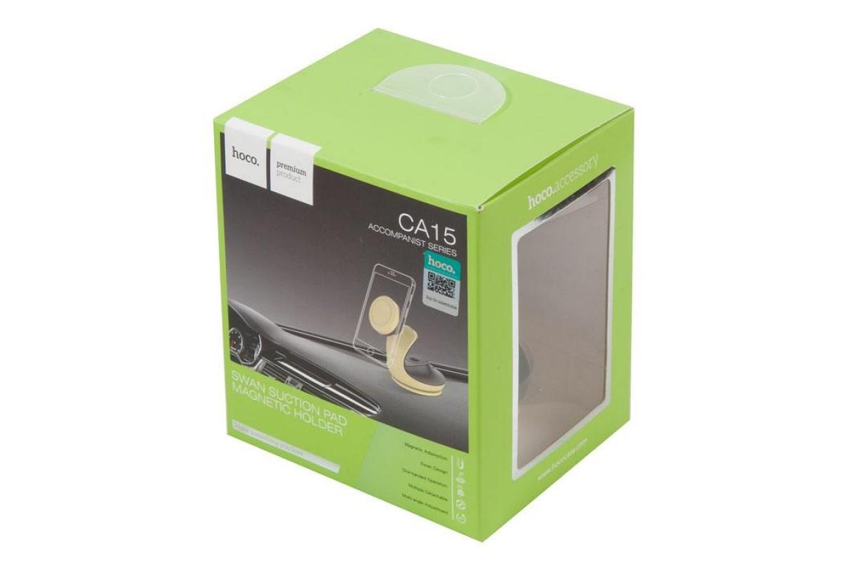 Держатель авто HOCO CA15 accompanist series Swan suction pad magnetic holder